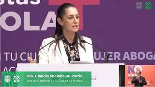 SHEINBAUM ASEGURA QUE AUMENTÓ EN 45% LA EFICIENCIA EN LA DETENCIÓN DE FEMINICIDAS EN LA CDMX