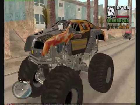 Gta San Andreas Mod Maximum Overdrive Goblin Truck Youtube