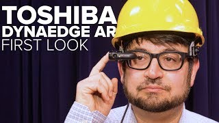 Toshiba's AR smart glasses are for field work