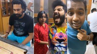 Singer Noel & Vithika Making Super Fun @ Rahul Sipligunj's Home - RAJSHRITELUGU