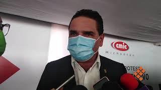 Confía Silvano en llegar a un acuerdo en caso Santa Fe de la Laguna