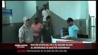 Matan ex oficial PN y su madre muere al enterarse de que fue asesinado