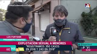 Vespertinas - Explotación de menores: