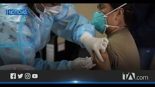 36 funcionarios de salud del Hospital Militar recibieron la vacuna contra el Covid-19