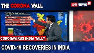 Decoding The Recovery Rate In COVID-19 Cases | The Corona Wall | CNN-News18 - IBNLIVE