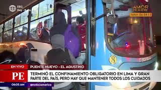 Primera Edición: Se registró gran afluencia de personas en Puente Nuevo (HOY)