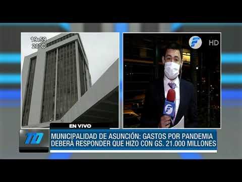 Municipalidad de Asunción deberá responder por gastos en pandemia