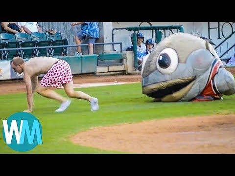 Top 10 Ridiculous Mascot Moments