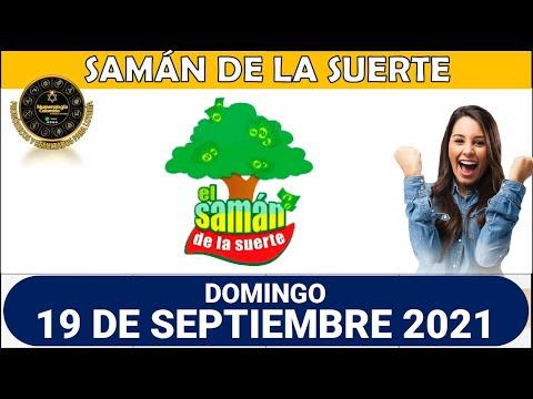 Resultado SAMÁN DE LA SUERTE del domingo 19 de septiembre de 2021