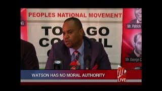 PNM Tobago Council Slams Watson Duke On Tobago Autonomy Comments