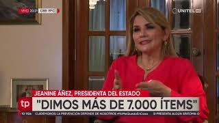 Presidenta defiende gestión de la pandemia: