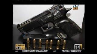 Capturan a individuo por esconder arma ilegal en Escuintla