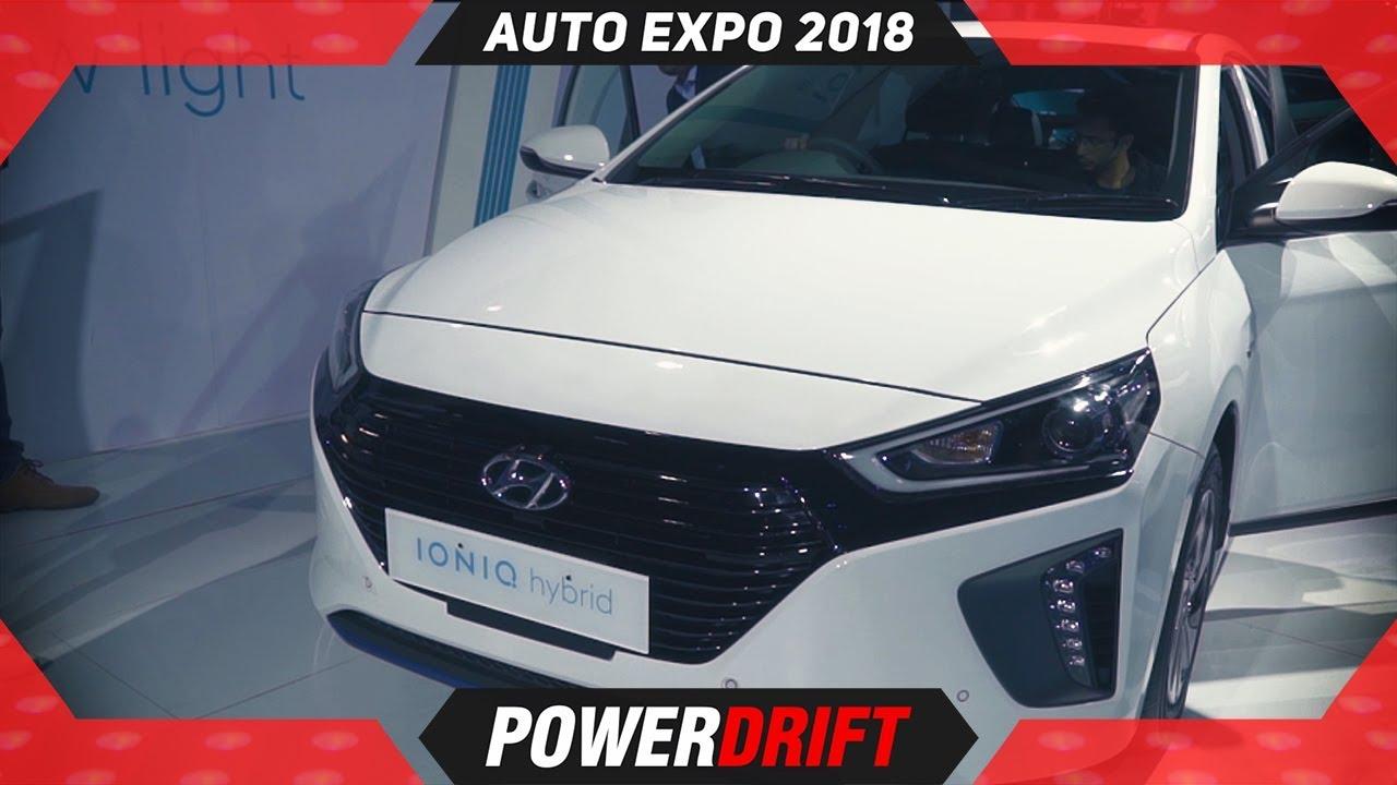 Hyundai Ioniq - Thank you SRK for making it easier @ Auto Expo 2018 : PowerDrift