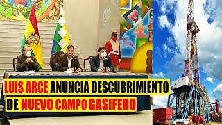 Bolivia   Gobierno Anuncia que se descubrió un Nuevo campo Gasifero en Chuquisaca