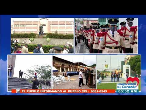 Inicia celebración del #BicentenarioHonduras en Juticalpa