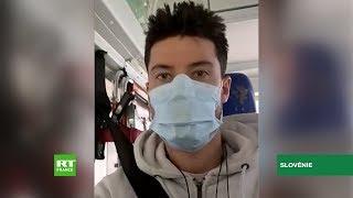 Coronavirus : un reporter de RT France testé positif se retrouve bloqué en Slovénie
