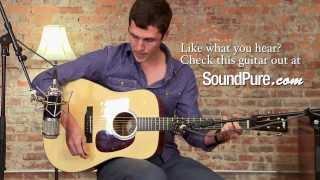 Collings D1A Acoustic Guitar Demo