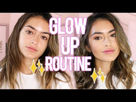 connectYoutube - MY GLOW UP ROUTINE: Hair and Makeup | Natalie Barbu