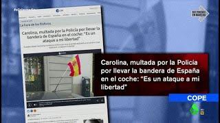No, la Policía no multa a quienes llevan la bandera de España: Sabatés desmonta los 'coronabulos'