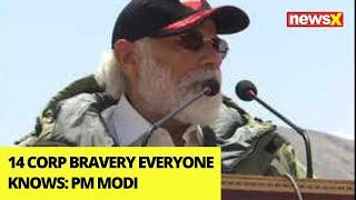 '14 Corp Bravery Everyone Knows' | Modi's Big Morale Booster |NewsX - NEWSXLIVE