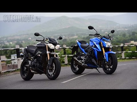 Suzuki GSX-S1000 vs Triumph Speed Triple by OVERDRIVE