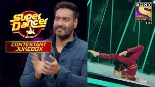 जब Mistake के बाद भी नहीं मानी हार, तो मिला Ajay से Applause | Super Dancer | Contestant Jukebox - SETINDIA