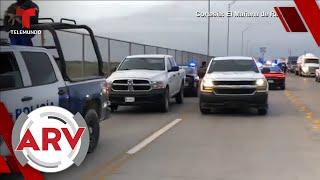 Hombre se suicida en plena frontera porque le negaron el asilo   Al Rojo Vivo   Telemundo