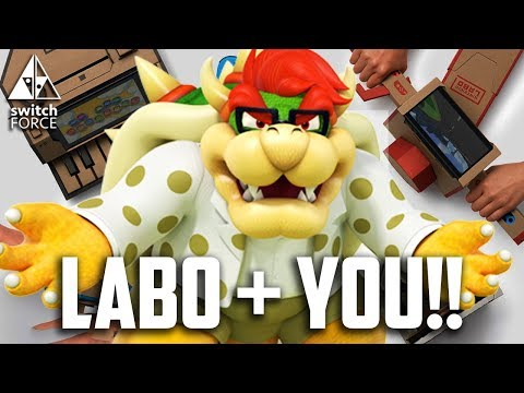 Nintendo Labo - YOUR Reaction + Review!!