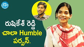 Rushikesh Is a Very Humble Person - Janhvi | Dil Se With Anjali | iDream Movies - IDREAMMOVIES