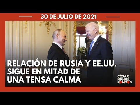 Estados Unidos acusa a Rusia de querer intervenir en elecciones de 2022