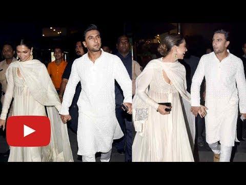 Padmaavat Screening : Deepika Padukone - Ranveer Singh Walk Hand in Hand