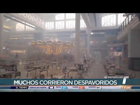 Reportan explosión de fuegos artificiales en Albrook Mall