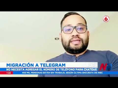 Migración masiva a Telegram tras caída de WhatsApp