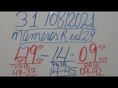 NUMEROS PARA HOY 31/08/21 DE AGOSTO PARA TODAS LAS LOTERIAS