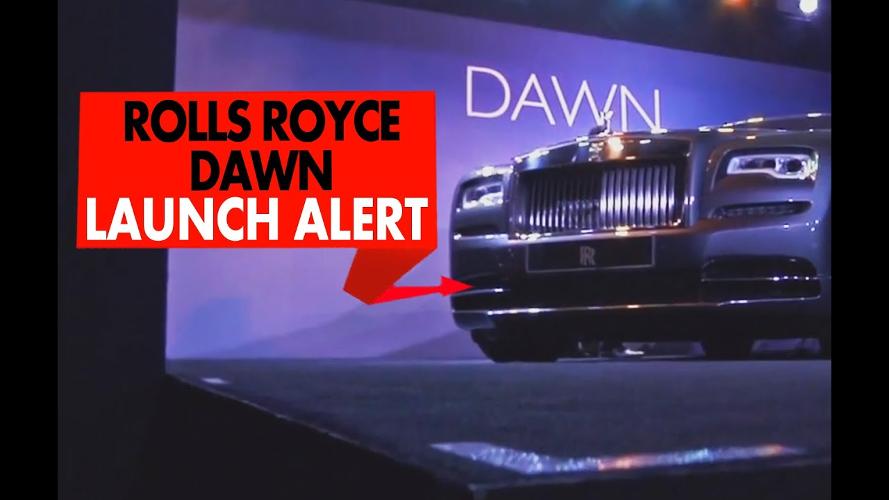 Rolls-Royce Dawn : Launch Alert : PowerDrift
