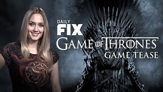 Game Of Thrones Game Tease & Mordor DLC - IGN Daily Fix