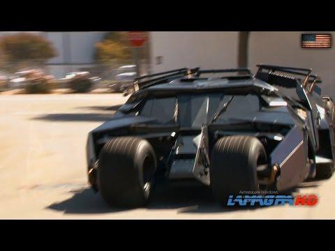 BATMOBILE - Batman's Tumbler From The Dark Knight [1080p]