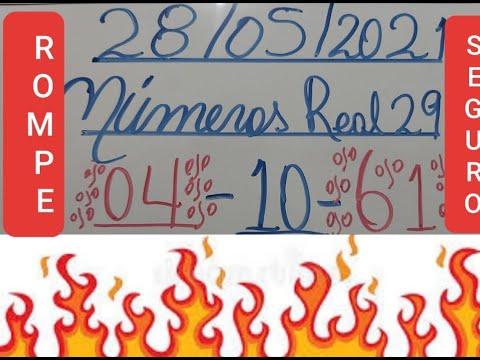 NUMEROS PARA HOY 28/05/21 DE MAYO PARA TODAS LAS LOTERIAS