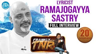 Ramajogayya Sastry  Frankly With TNR