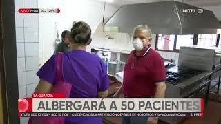 La Guardia alista centro de aislamiento para recibir a 50 pacientes de Covid-19