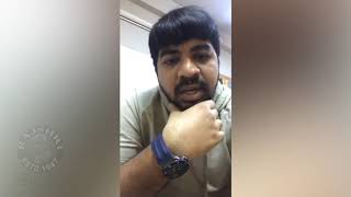 Actor Abhinav Gomatam Fires On Troll Pages Over Tharun Bhascker Issue - RAJSHRITELUGU