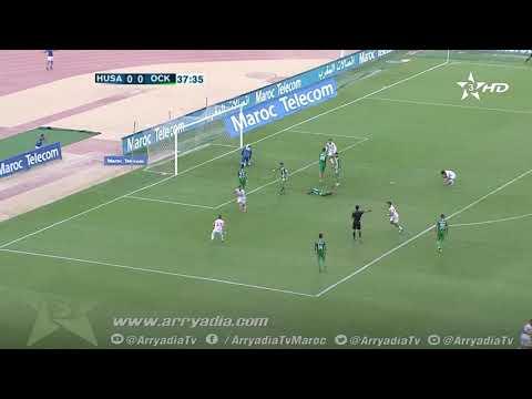 هدف حسنية أكادير1-0 أولمبيك خريبكة - كريم البركاوي