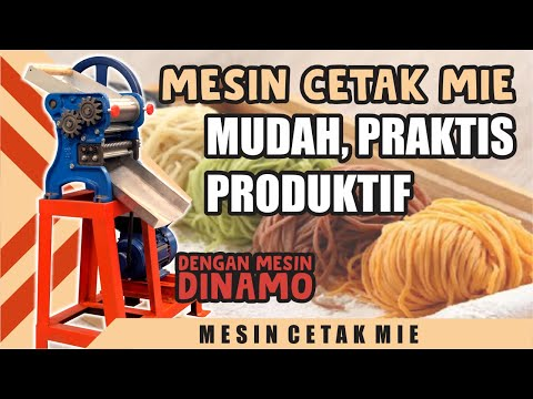 Mesin Press Mie | Food Grade Standard