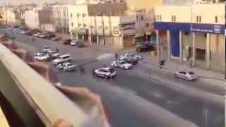 فيديو: اطلاق نار في منفوحة .. ودخول قوات الطوارئ