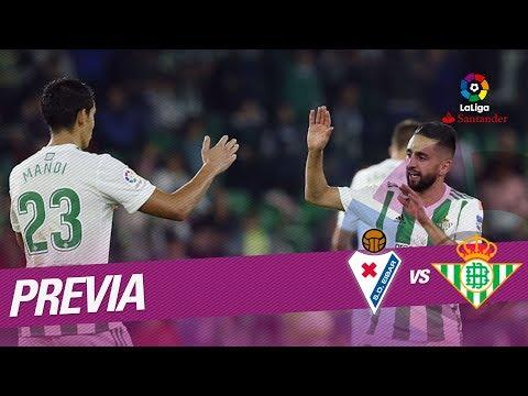 Previa SD Eibar vs Real Betis