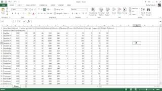 Microsoft Excel 2013 Tutorial - 11 - Formatting Your Worksheet