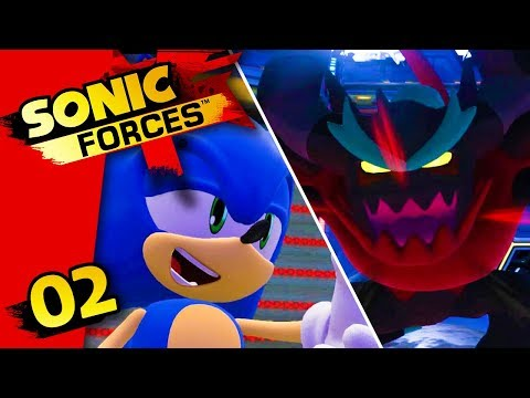SONIC CONTRE ZAVOK !! - SONIC FORCES #02 - LET'S PLAY SWITCH (FR)