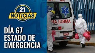 Coronavirus en Perú: Día 67 de estado de emergencia