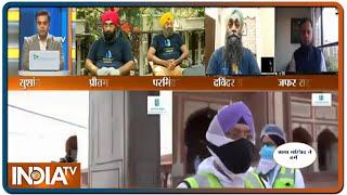 ईद पर सिखों की मिशन... मंदिर-मस्जिद पर Sanitisation | IndiaTV News - INDIATV