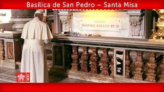 18 de mayo 2020 Basílica de San Pedro. Papa Francisco